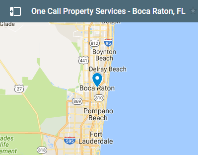 Fire Water Mold Emergency Restoration Boca Raton FL - Boca raton florida map