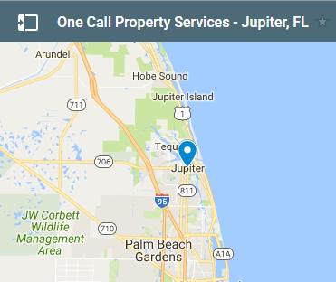 Map Of Florida Showing Jupiter.Fire Water Mold Emergency Property Restoration Jupiter Fl
