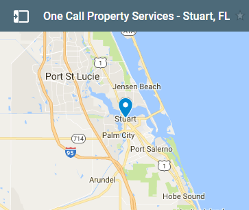 Map Of Stuart Florida.Water Damage Fire Damage Property Restoration Stuart Fl